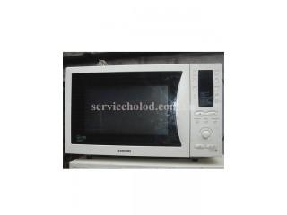 Микроволновая печь Samsung MC28H5013AW/BW Б/У с грилем